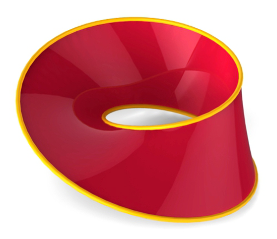 Mobius strip (ray-traced illustration)