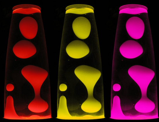 Lava lamp bubbles