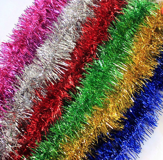 Mylar tinsel can do some pretty magical stuff