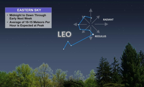 The Leonid meteor shower begins tonight - here's how to watch the sky's brilliant show!